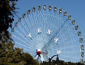 Ferris wheel in Texas