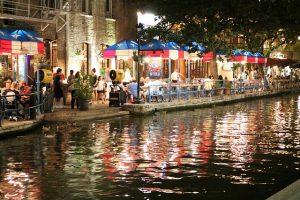 San Antonio riverside