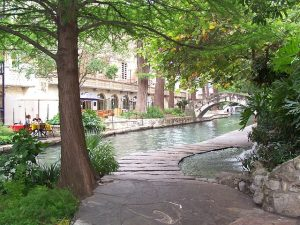 River walk in San Antonio
