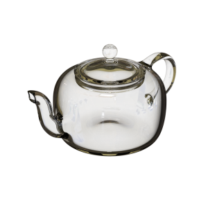 An transparent kettle