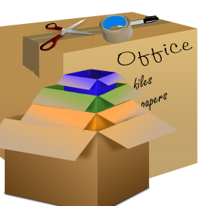 Labeled boxes