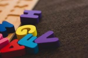 Children's letter toys