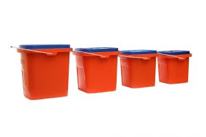 plastic moving containers