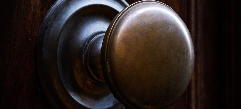 add value to your home- a doorknob