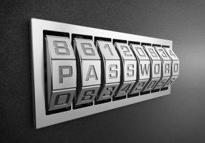 a password
