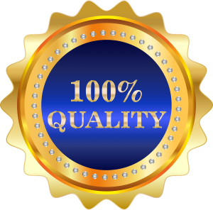 Picture of quality certificate
