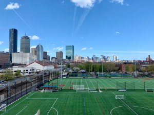 green sports field