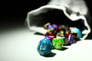 Dice for dungeons and dragons