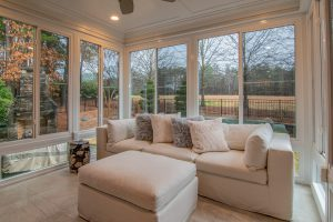 make large homes feel cozy