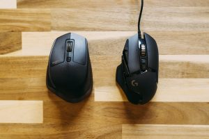 two computer mice