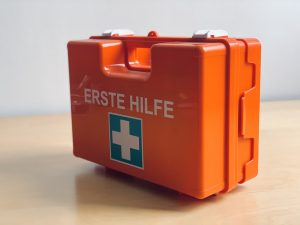 A first-aid box